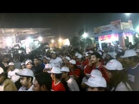 Flash Mob At American Center Kolkata Bookfair - Video 1