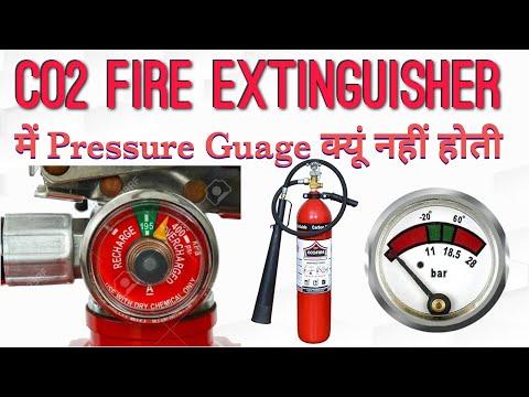 CO2 Fire Extinguisher में Pressure Gauge क्यों नहीं होती ?