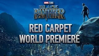 Marvel Studios Black Panther World Premiere Red Carpet