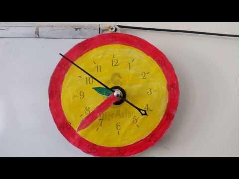 3/B Sınıfı - Saat Etkinliği (Afife'nin Saati Gerçek Saat Oldu)