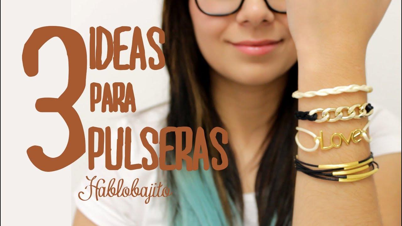 576c1a23d4c8 3 Ideas para hacer Pulseras Arm Candy   Accesorios de Moda - Hablobajito