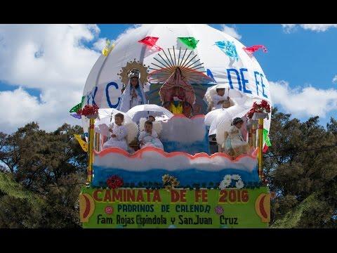 Calenda y Mayordomía - XX Caminata de Fe Tlaxiaco-Juquila -  2016