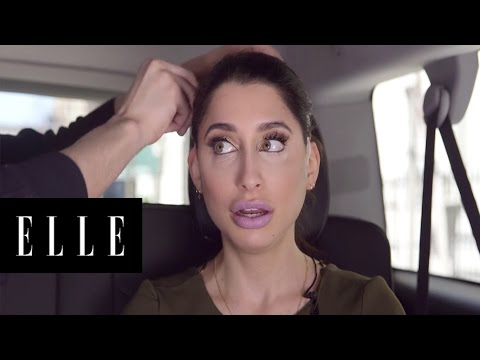 How to Use Face Lift Tape   Back Seat Face Beat   ELLE
