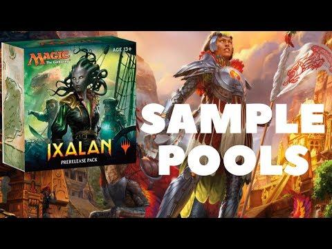Sample IXALAN Sealed Pools & Pre-Release Prep!