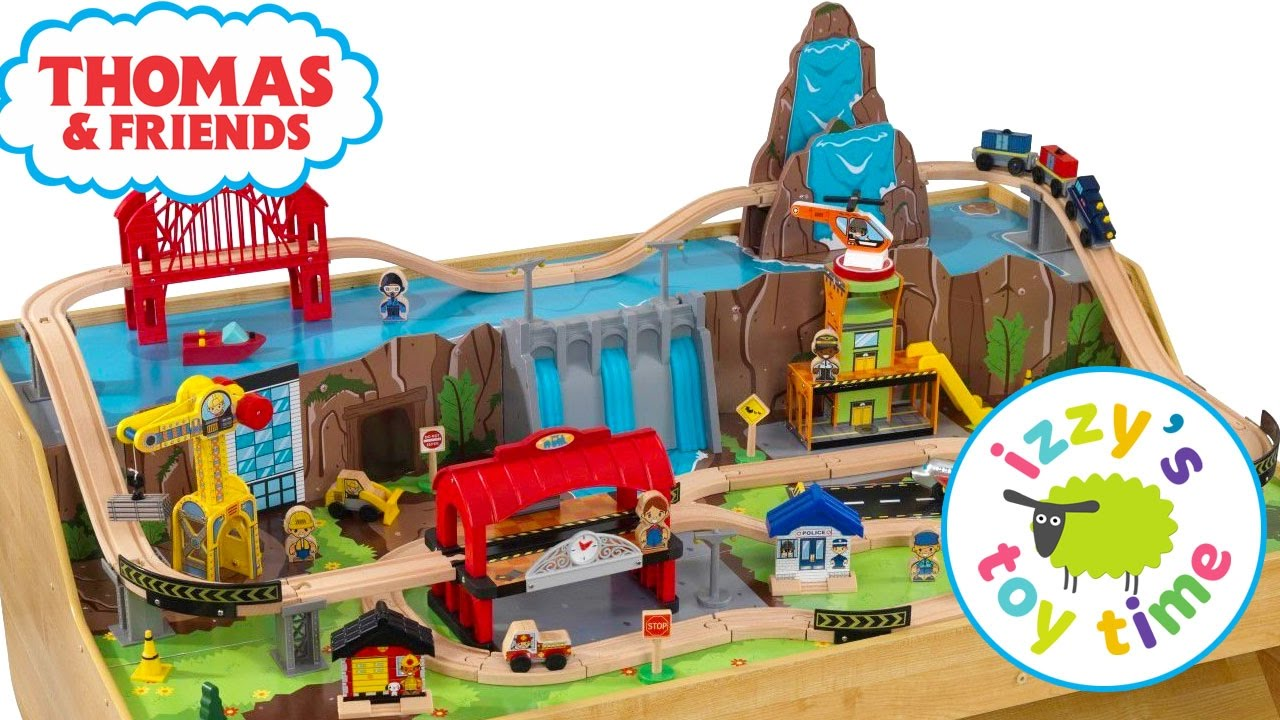 Thomas and Friends | Thomas Train and KidKraft Grand Central Station Play Table Toy Trains for Kids & Thomas and Friends | Thomas Train and KidKraft Grand Central Station ...