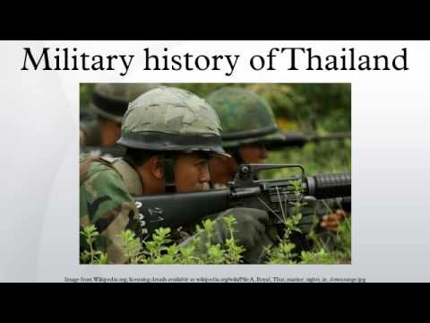 Military history of Thailand