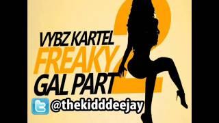 Vybz Kartel - Freaky Gal Part 2 [Clean] (2011)