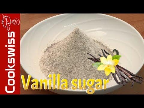 Vanilla Sugar - How To Make Vanilla Sugar Out Of Used Vanilla Bean (vanilla Powder)
