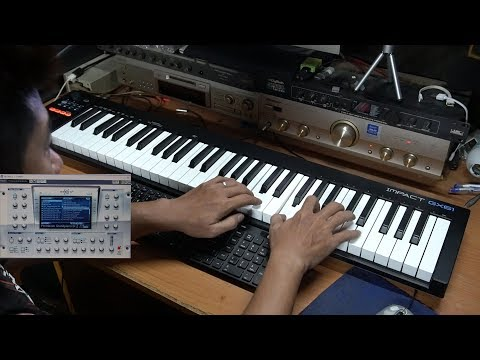 Midi Controller Nektar Impact GX61 Unboxing & Test Play (TongHua Song)