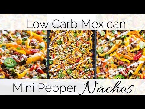 How to Make Low Carb Mini Pepper Nachos