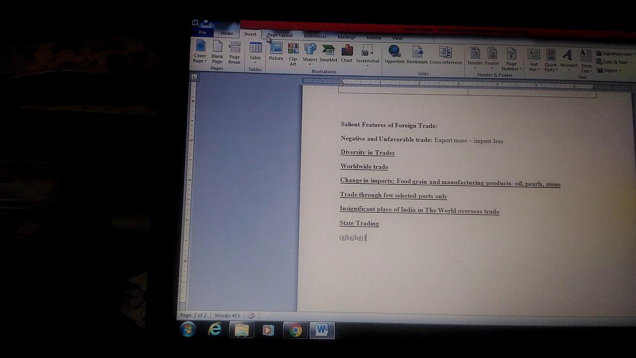 Cultural narrative essay