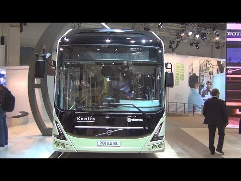 Volvo 7900 ElectriCity Electric Bus Exterior and Interior