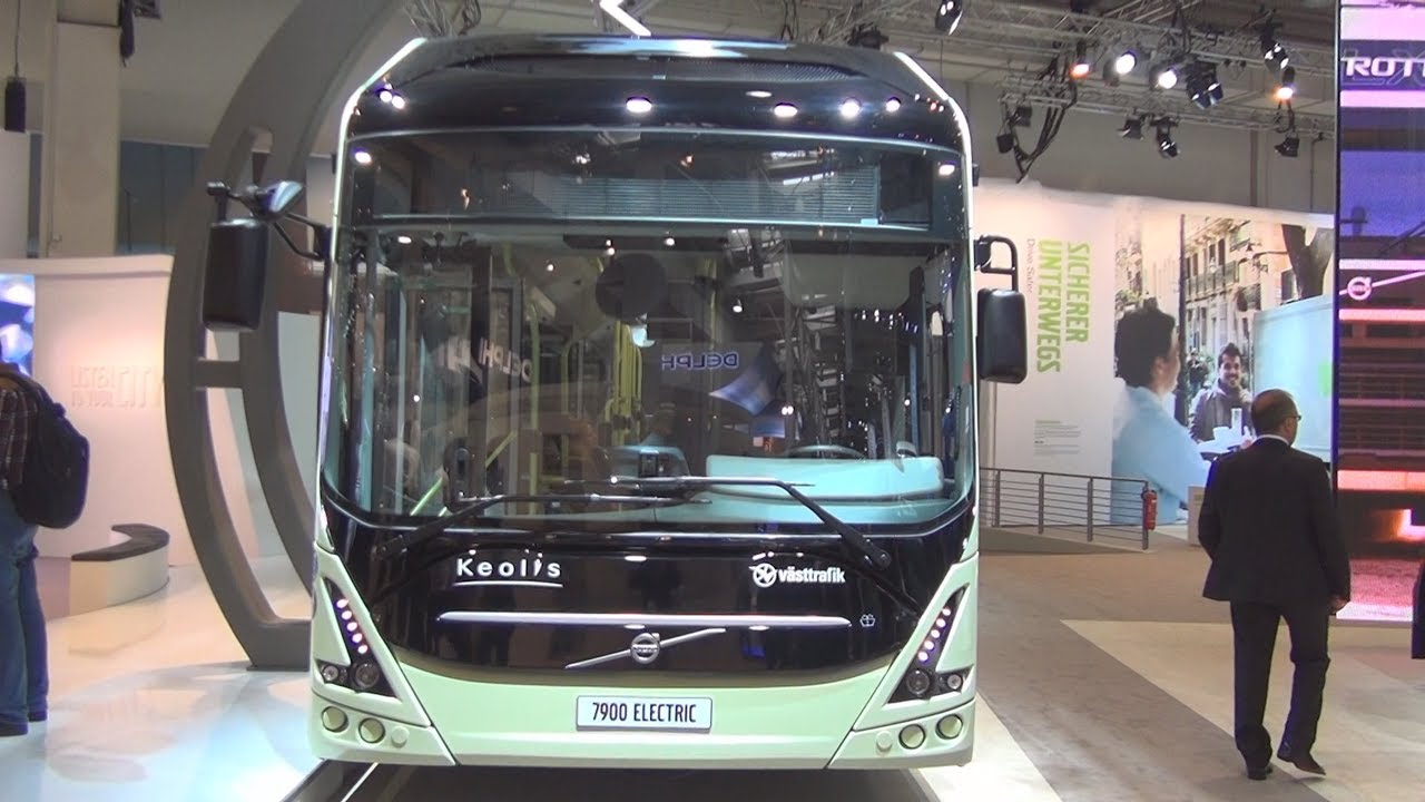 Volvo 7900 ElectriCity Electric Bus Exterior and Interior ...