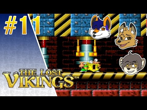 """Industrial Accidents"" The Lost Vikings - Part 11 - BrantFurred Play"