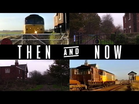 Then & Now   Timperley To Dunham Massey Disused Railway