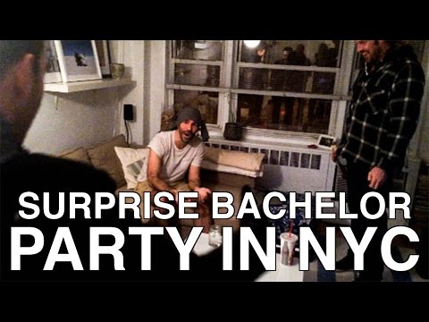 Bachelor Party In NYC (Surprise Stag In New York City)