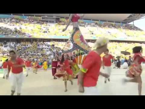 Live FIFA World Cup Opening Ceremony 2014 - Pitbull ft Jennifer Lopez - We Are One (Ole Ola)
