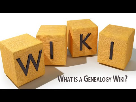 What is a Genealogy Wiki?   Genealogy Gold Podcast   AF-257