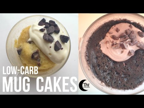Keto Mug Cakes LowCarb 1Minute Microwave Cake Recipes