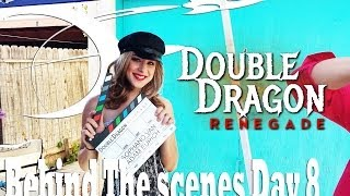 BTS on the set of Double Dragon Renegade Day 8