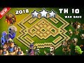 UNDEFEATED Best Th10 War Base 2018 Vs Anti 3 Star With Replays Anti Bowler Anti Miner Anti Valkyrie