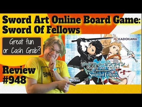 bower's-game-corner:-sword-art-online-board-game:-sword-of-fellows-review