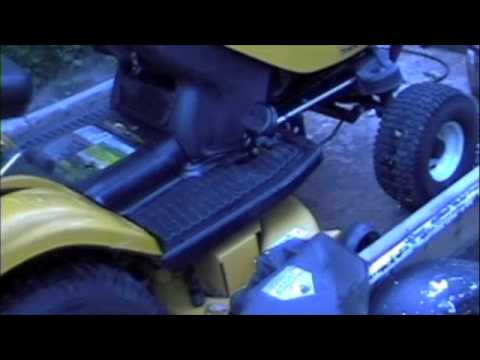 Cub Cadet i1046 Steering Differential Repair