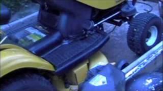 cub cadet i1046 steering differential repair
