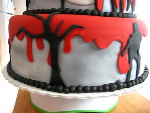 Michael Jackson Thriller Tribute Cake