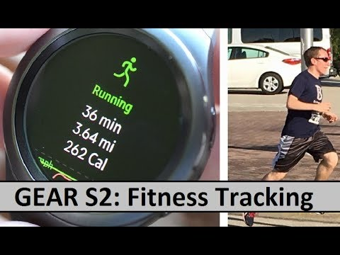 Samsung Gear S2: Fitness Tracking And Exercising Review Of S-Health