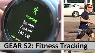 Samsung Gear S2: Fitness Tracking & Exercising Review of S-Health
