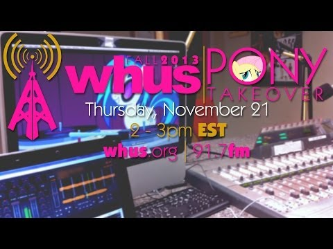 Pony Music on College Radio: WHUS Pony Takeover, Fall 2013