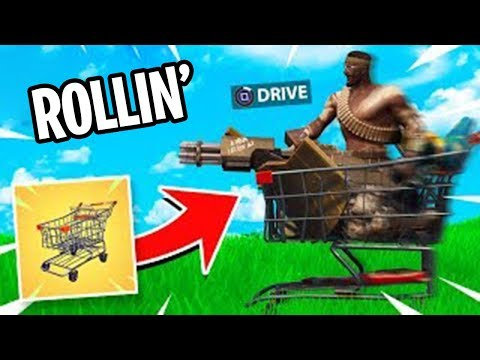THEY SEE ME ROLLIN'...(Shopping Cart Fortnite Update)