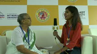 Smt. Pravina Desai's insights on Peace and World's Biggest Dome