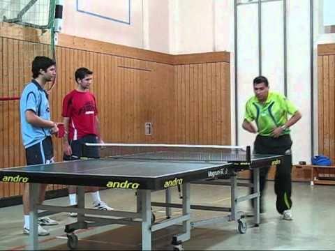 Clase de tenis de mesa prueba pedagogica ping pong youtube for Mesa ping pong carrefour