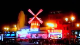 кабаре мулен руж в париже видео