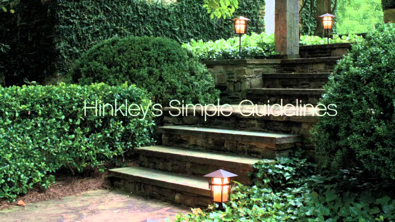 Getting Started With Hinkley Landscape Lighting