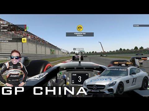 Carrera Profesional #2 | Sale el SafetyCar y una estrategia increible en China! - F1 2016