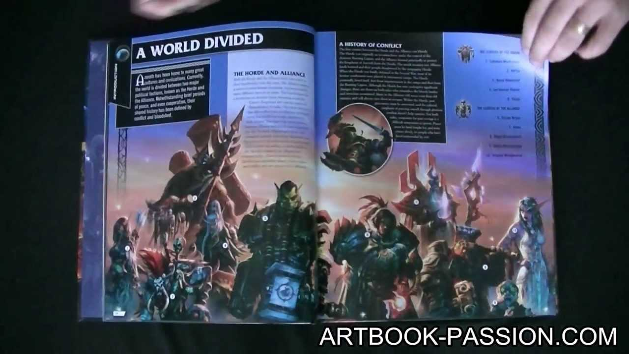 2 Minutes 1 Artbook 28 Livre World Of Warcraft The Ultimate Visual Guide