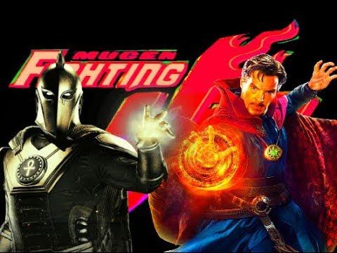 Mugen Fighting Jam Madness: Dr. Fate (DC Comics) vs Dr. Strange (Marvel Comics)