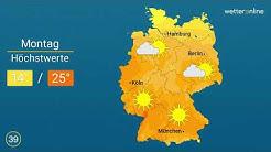 Wetter: Im Süden bis 25 Grad (17.05.2020)