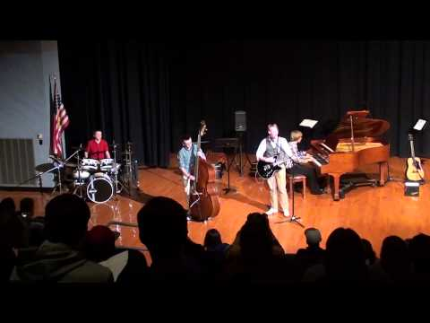 The Black Shoes performing at Kennett High School North Conway, NH