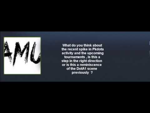 PDC Professional Players Interview : Amu