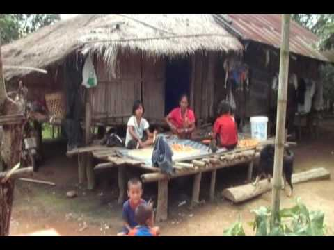 visiting hilltribes in North Thailand