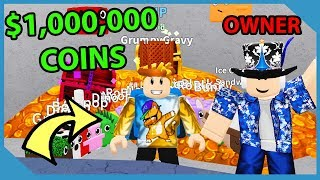 Over 1,000,000 Coins!! Roblox Pet Mining Simulator
