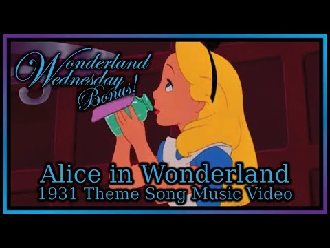 Alice in Wonderland  Music   1931 Theme Song