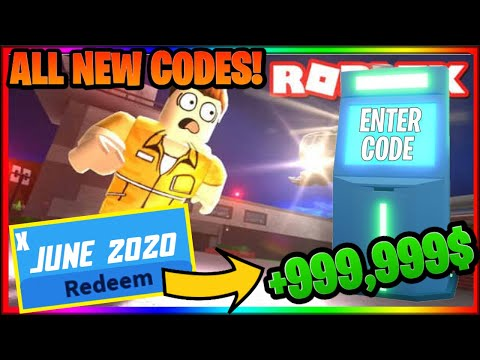 All Working Codes Jailbreak 2020 Roblox Youtube