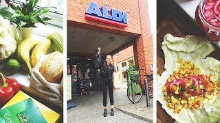 I WENT ZERO WASTE SHOPPING IN ALDI // and I made lunch lol