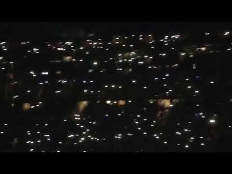 Awesome Cell Phone Light Show - Fleetwood Mac - Orlando, FL 2015 Pre-Encore