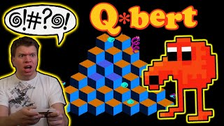 Q*BERT NES Video Game Review S2E06 | The Irate Gamer